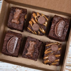 Colline's Kitchen festive brownies