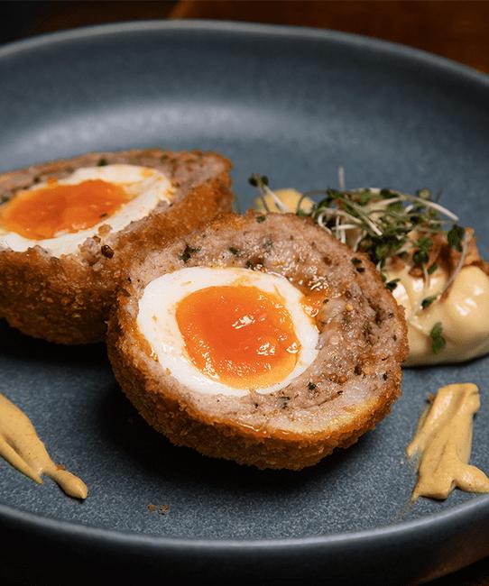 Colline's Kitchen scotch egg