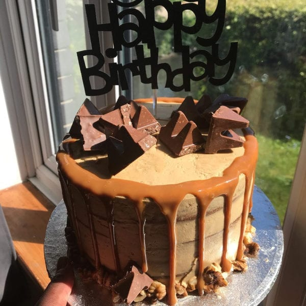 Colline's Kitchen birthday drip cake