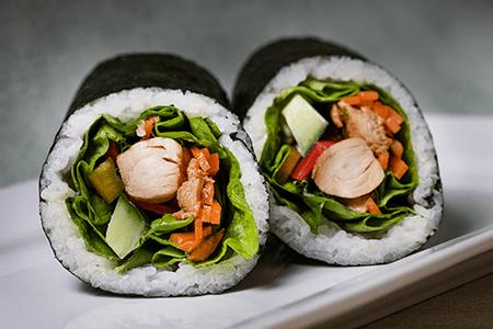 Colline's Kitchen sushi