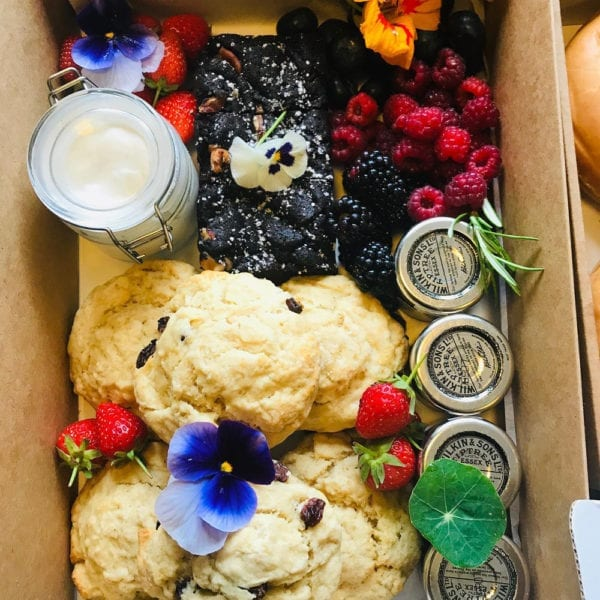 Colline's Kitchen afternoon tea box