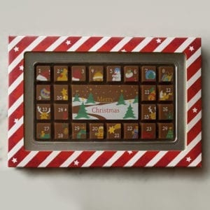 Colline's Kitchen chocolate advent calender
