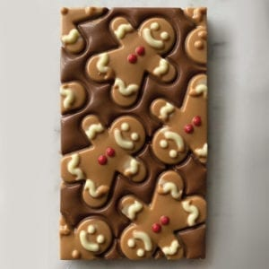 Colline's Kitchen gingerbread man chocolate
